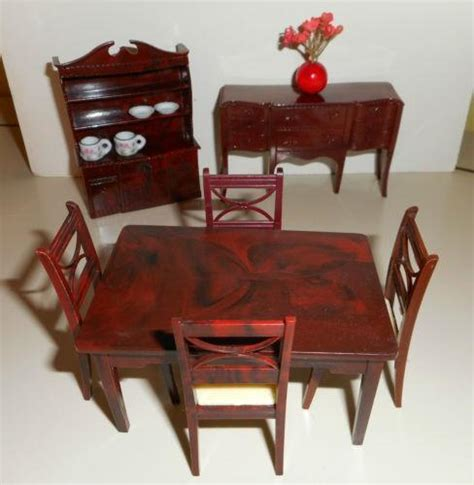 dolls house furniture ebay vintage renwal doll house furniture ebay