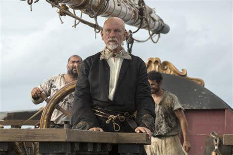 john malkovich new tv show review crossbones john malkovich as blackbeard sign