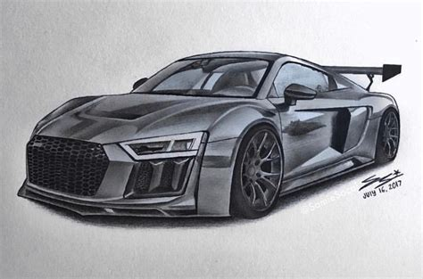 how to draw an audi r8 drawingforall net search results for widebody draw to drive