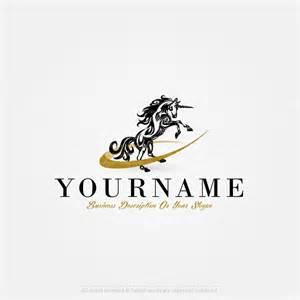 create a template create a logo unicorn logo templates