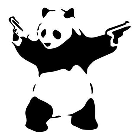 panda enjoi tattoo panda with guns banksy tattoo tattooforaweek temporary