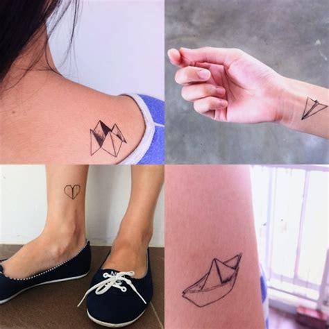origami tattoos la fille du quatri 232 me