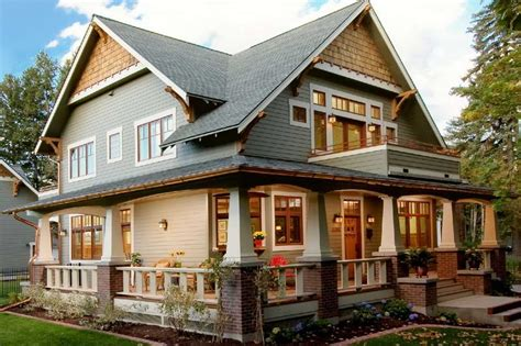 craftsman style house plans with wrap around porch exceptional craftsman style homes plans 7 craftsman style