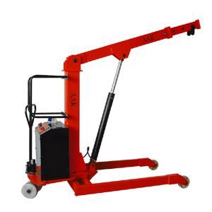 mobile floor crane catalogue semi electric floor crane aak handling equipments