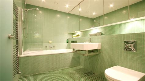 Astonish Bathroom Cleaner Pembersih Kamar Mandi green glass mosaic bathroom in chepstow paul warren design