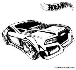 Dibujo de Hot Wheels 5 para Colorear   Dibujos.net