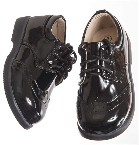 boys black dress shoes patent leather shoes boys formal