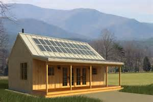simple cottage home plans solar panels made simple time to build