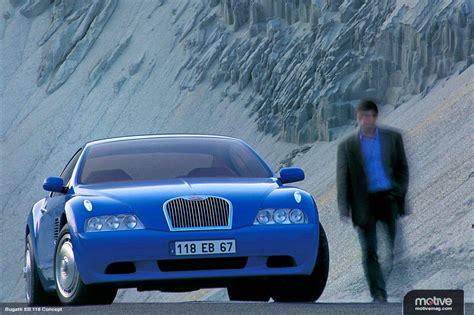 concept car remembering  bugatti eb speedonline