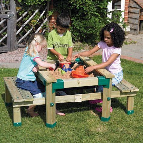 Sand Table Ideas Picnic Table Sand Table Diy Furniture Pinterest Sand Table Picnic Tables And Outdoor Play
