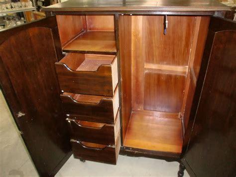 Dresser Closet Armoire Antique Vintage Wardrobe Armoire Chifferobe Dresser Closet