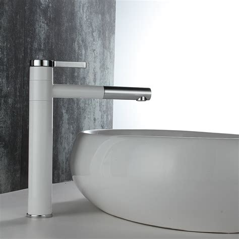 bathroom lavatory vessel sink faucet swivel one hole fast delivery beelee bl9701wh chrome lavatory faucets