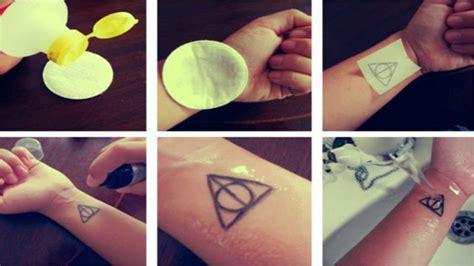 How To Make A Temporary With Tracing Paper - diy temporary tattoos lifehacker australia