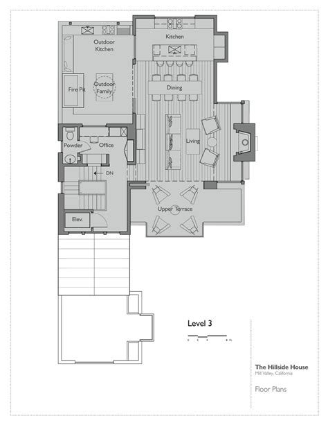 hillside floor plans gallery of hillside house sb architects 19