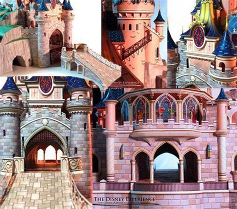 Sleeping Castle Papercraft - sleeping castle papercraft 28 images build sleeping