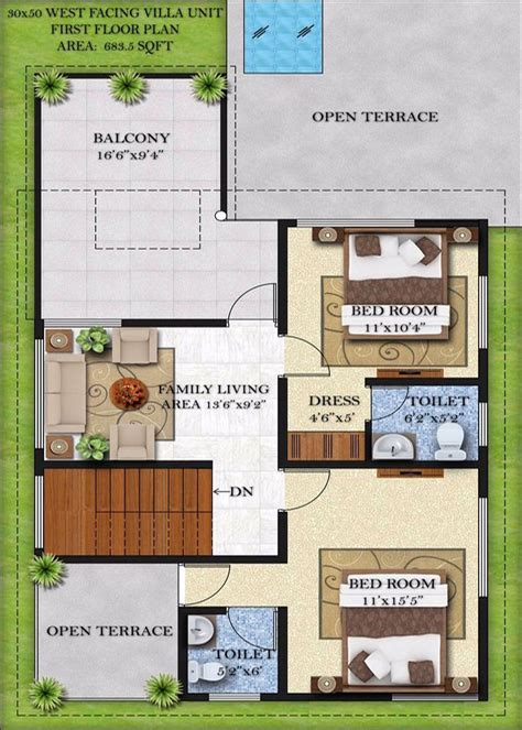 west facing house designs west facing house plans for 30x40 site as per vastu