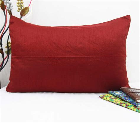 India Print Sofa Cushion Cover indian cushion cover solid print home decor throw dupion