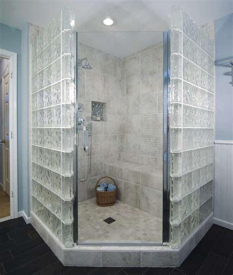 immagini di docce vetrocemento foto design mag