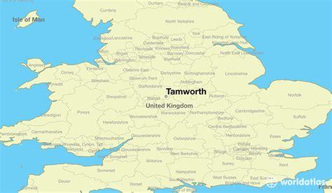 where is tamworth tamworth map