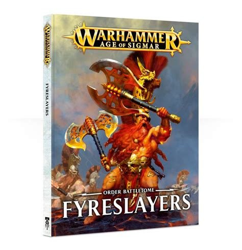 Order Battletome Fyreslayers fyreslayers magmadroth and battletome tabletop encounters