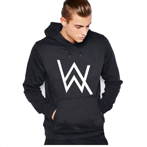 Hoodie Alan Walker Salsabila Cloth 1 new mens hoodies alan walker with electric sounds autumn winter sleeve hoodie brand