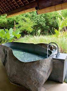 outdoor bathroom design with very creative bath tub designs home garden amp architecture blog