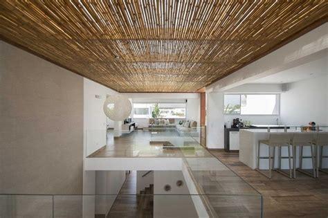 canas de cocina rusticas techos de madera y bamb 250 en la casa panda