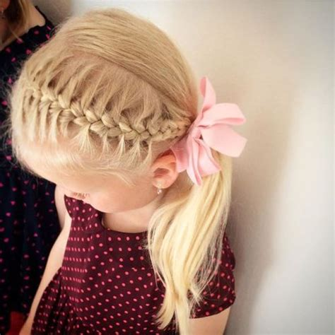 side ponytail child 20 adorable toddler girl hairstyles