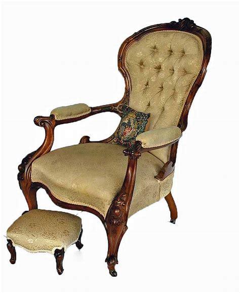 Victorian Armchair Styles A Victorian Button Back Fine Art Decorative Arts