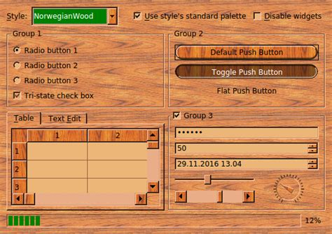 exle of layout design in android basic layout exle qt styles exle qt widgets 5 10
