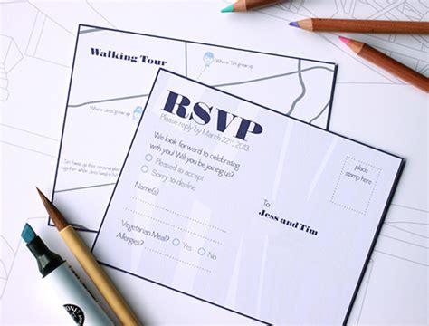 rsvp wedding invitations vancouver getting started with wedding invitations from vancityweddings