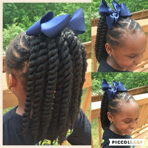 crochet hairstyles in ponytails cornrows with crocheted 12 quot medium mambo twist ponytail