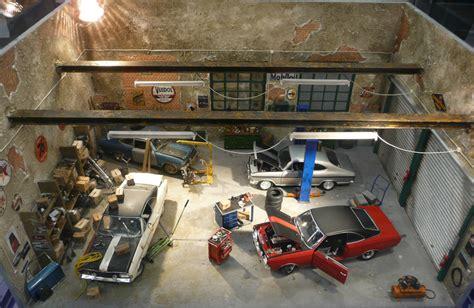 Model Car Garage Diorama Accessories garage diorama revell cars 1 jpg 800 215 521 pixels models