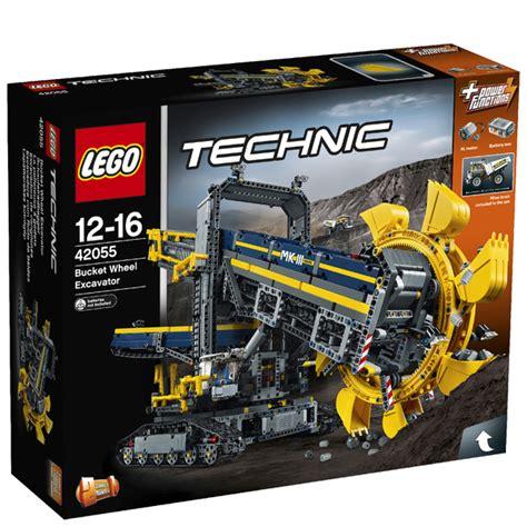 lego technic wheel excavator lego technic wheel excavator 42055 toys thehut com