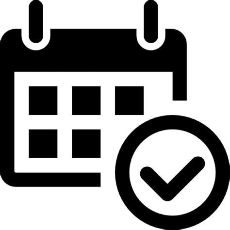 Check Calendar Calendar Check Icons Free