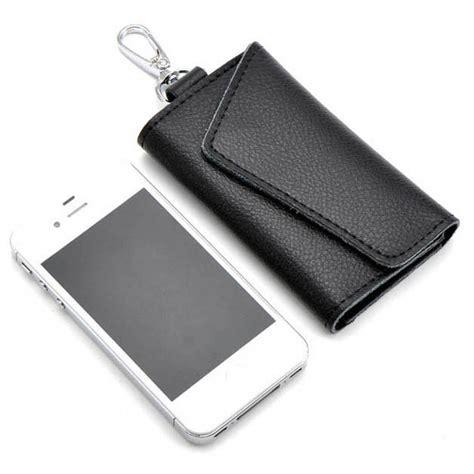 Pengunci Laptop Murah Kunci Laptop dompet gantungan kunci mobil purse fashion black jakartanotebook