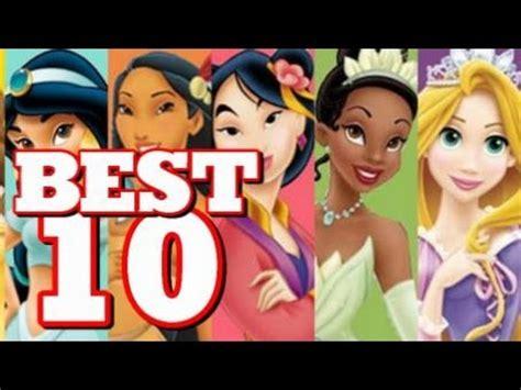 10 film terbaik walt disney top 10 disney princess movies youtube