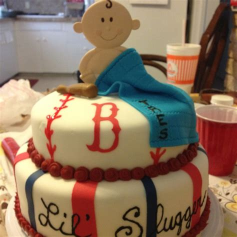Boston Baby Shower by Baby Shower Cakes Boston Sox Baby Shower Cakes