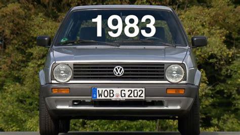 Golf Auto Video by Video Vw Golf 2 1983 Autobild De
