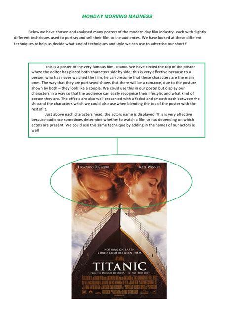 titanic film uk rating film review writing sle titanic