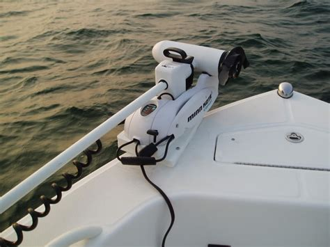 bow mount trolling motor trolling motor on my new boat page 2 the hull
