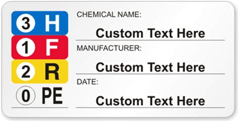 Msds Labels For Secondary Containers Images Frompo Msds Label Template