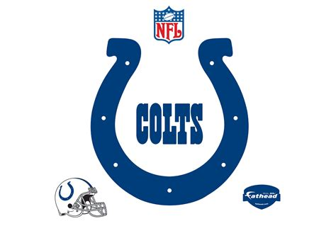 indianapolis colts logo wall decal shop fathead 174 for