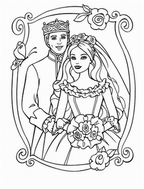 easy barbie coloring pages get this simple barbie coloring pages to print for