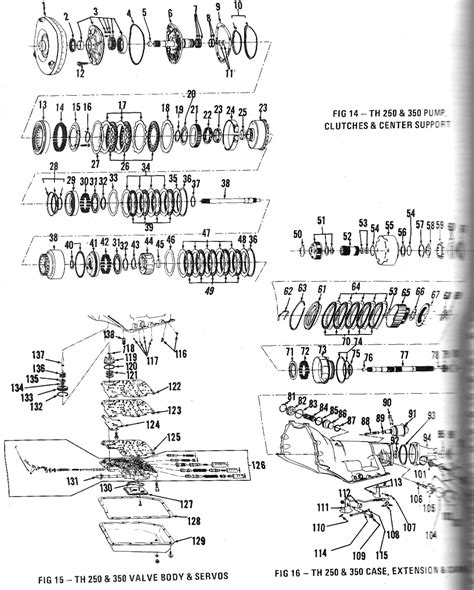 350 turbo transmission diagram chevy transmission parts diagram pictures to pin on