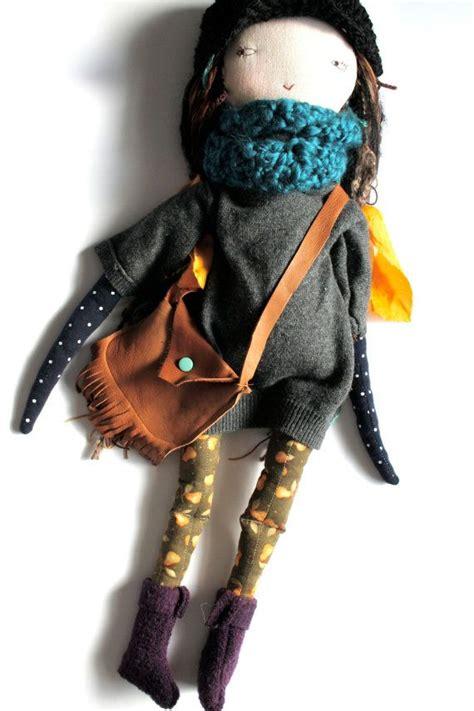 rag doll cloth doll handmade waldorf inspired stylish