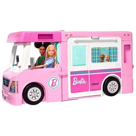 buy barbie    dream camper playset  usd