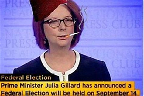 Julia Meme - julia gillard s election announcement marked by witty