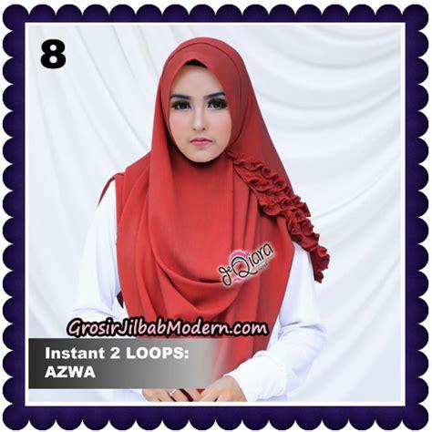 Jilbab Cantik Instan Jilbab Cantik Instan 2 Faces Azwa Original By Deqiara