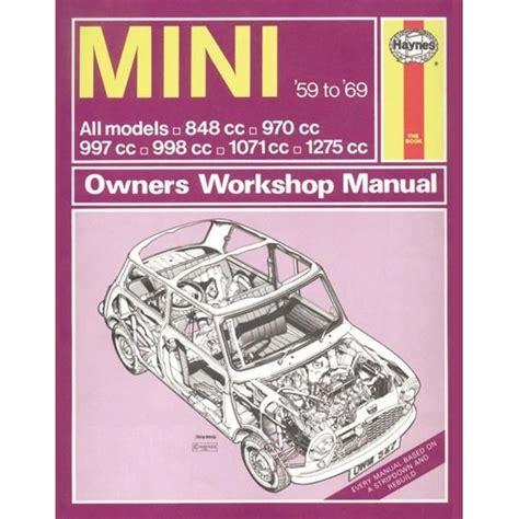 a conchological manual classic reprint books vehicle manual for mini 1959 69 upto h classic reprint